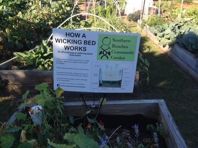 Gardening Placard