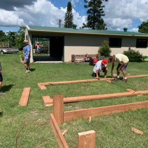 building garden plots