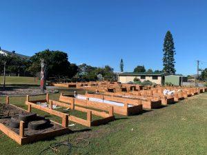 successful garden expansion
