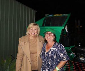 Councillor Gail O'Neill and Di Gunther